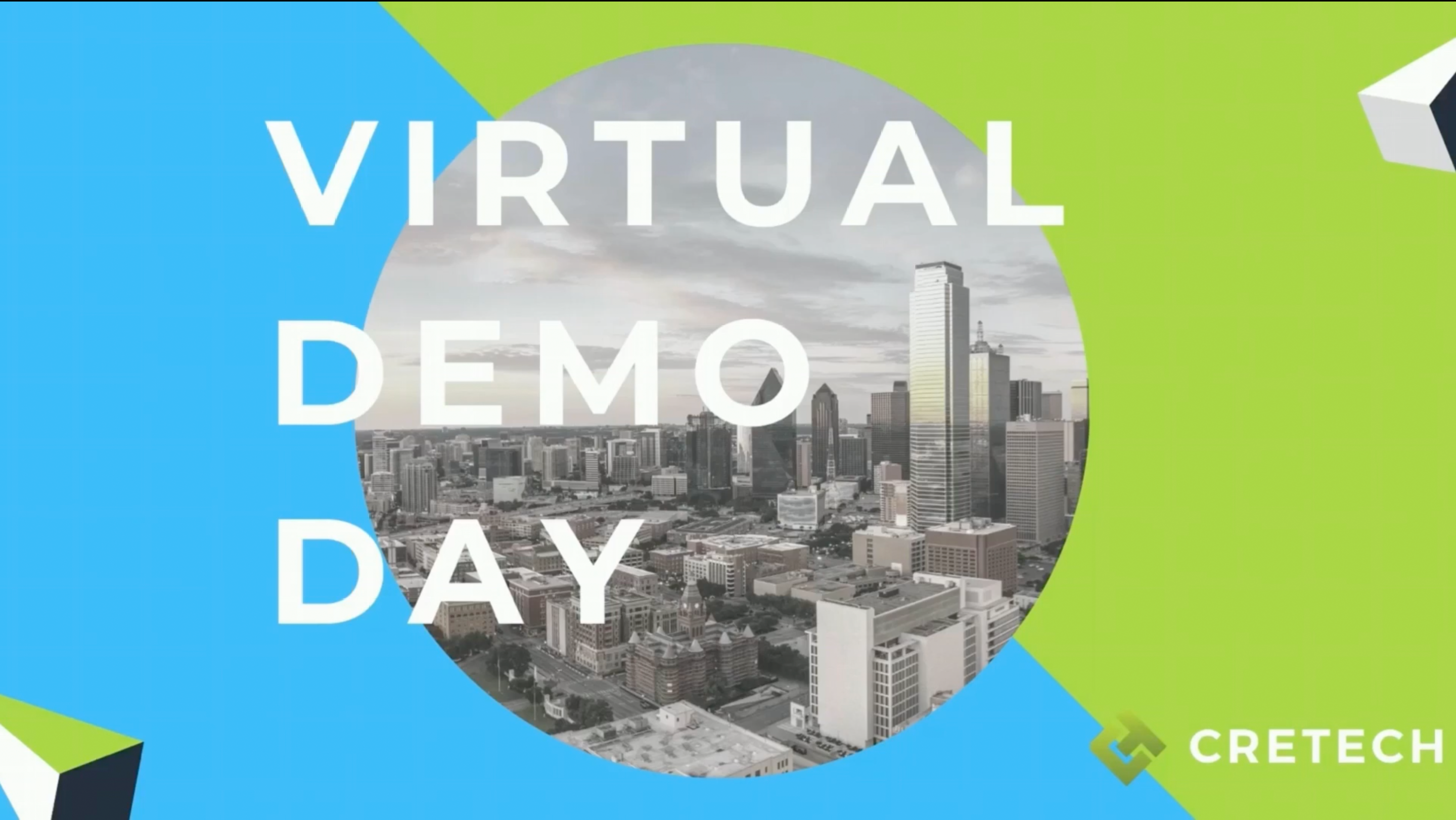 Virtual Demo Day – CREtech