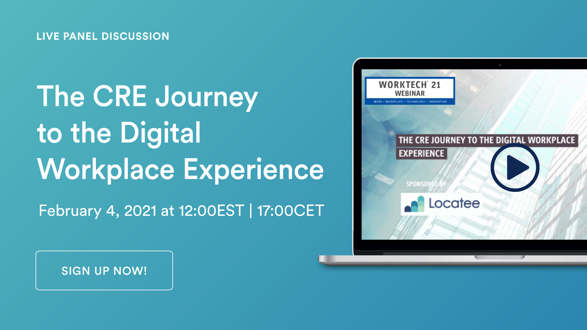 Upcoming Webinar: The CRE Journey to the Digital Workplace Experience