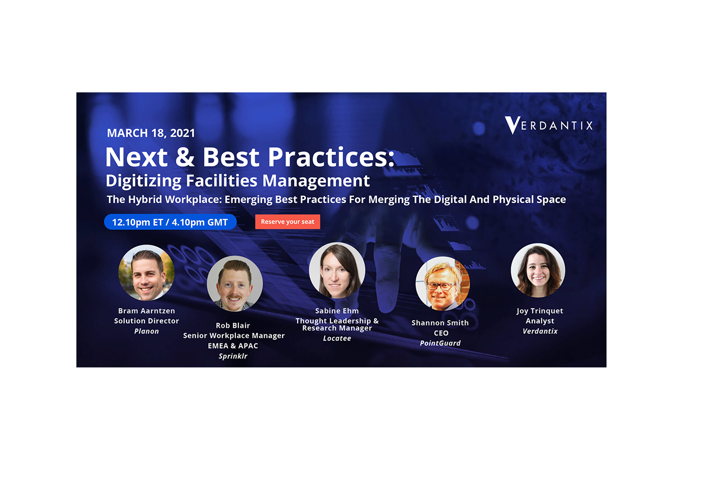 Next & Best Practices: Digitizing Facilities Management – Verdantix